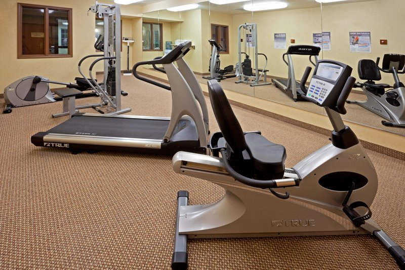 Holiday Inn Express Syracuse-Fairgrounds-Get your run or bike in on our cardio machines<br/>Image from Leonardo
