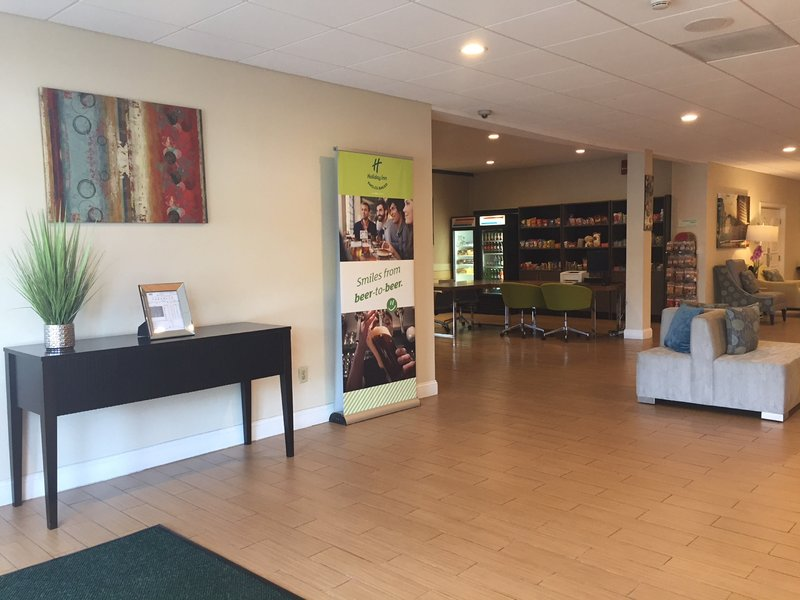 Holiday Inn Danbury-Bethel at Interstate 84-Our lobby and business center with computer and printer.<br/>Image from Leonardo