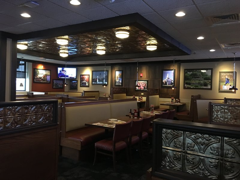 Holiday Inn Danbury-Bethel at Interstate 84-The popular and delicious hometown favorite, 99 Restaurant.<br/>Image from Leonardo
