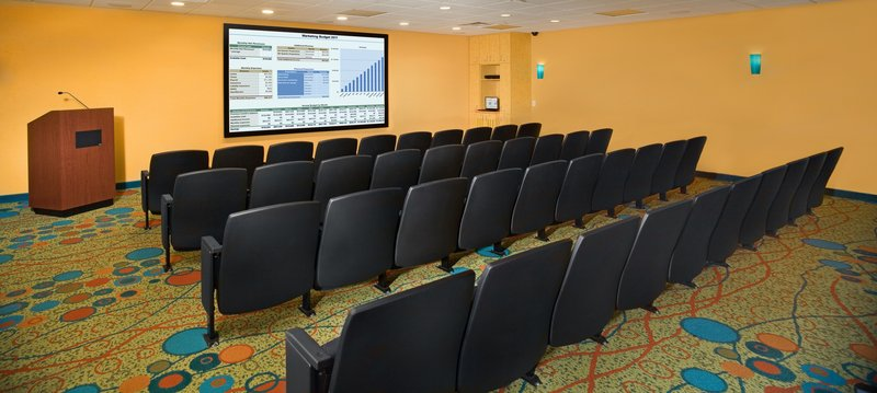 Holiday Inn Hotel & Suites Virginia Beach - North Beach-Our 48 Seat Movie Theatre is suitable for work and play.<br/>Image from Leonardo