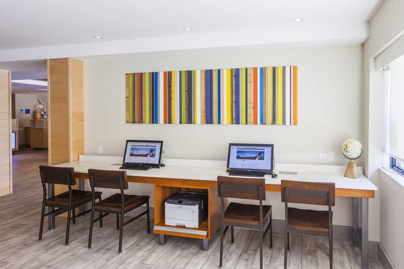 Holiday Inn Express &amp; Suites St. John Harbour Sde-Stay connected in our complimentary fully-equipped Business Center<br/>Image from Leonardo