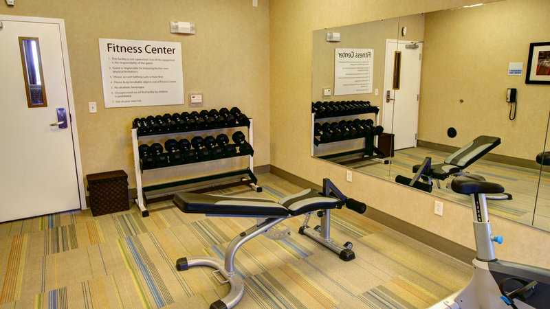 Holiday Inn Express & Suites Sioux City - Southern Hills-24 Hr Fitness Center with Free Weights and Bench<br/>Image from Leonardo