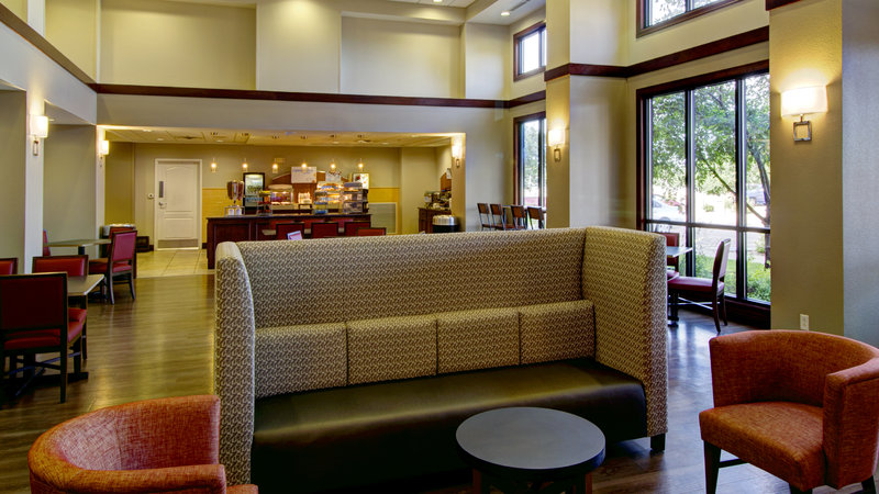 Holiday Inn Express & Suites Sioux City - Southern Hills-Relax and Visit with Friends in our Gathering Area<br/>Image from Leonardo