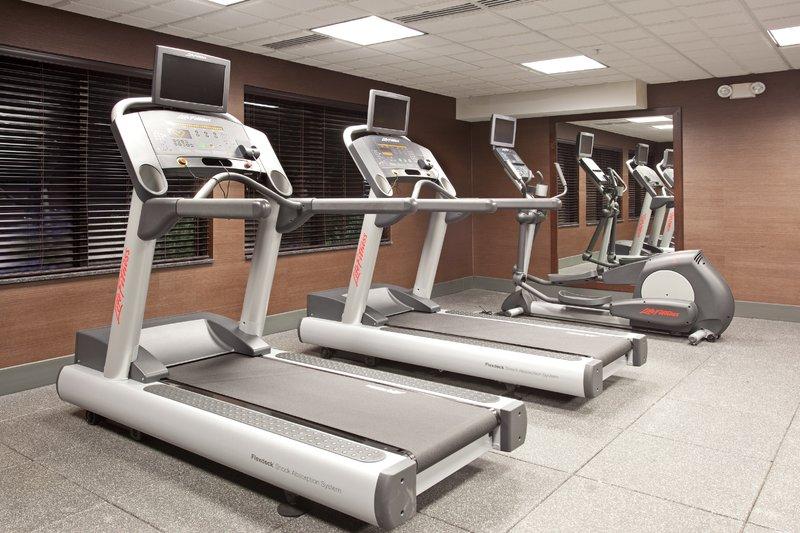 Holiday Inn Express & Suites Moab-Fitness Center in the Holiday Inn Express & Suites Moab<br/>Image from Leonardo