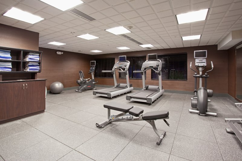Holiday Inn Express & Suites Moab-24hr Expanded Fitness Center with LifeFitness Equipment<br/>Image from Leonardo