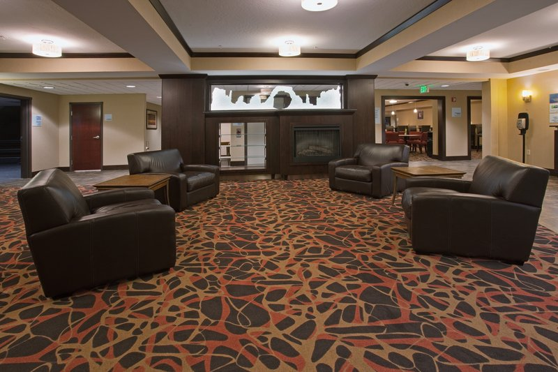 Holiday Inn Express & Suites Moab-Hotel Lobby in the Holiday Inn Express and Suites Moab<br/>Image from Leonardo