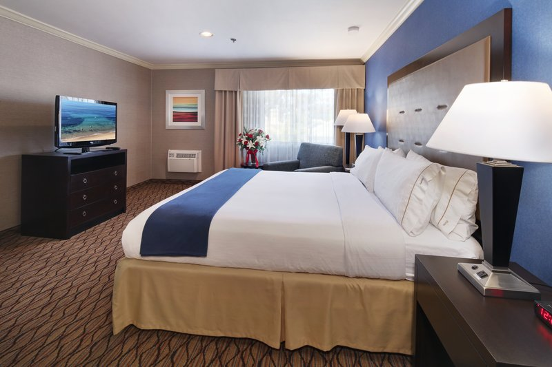 Holiday Inn Express Port Hueneme-King Bed Guest Room<br/>Image from Leonardo