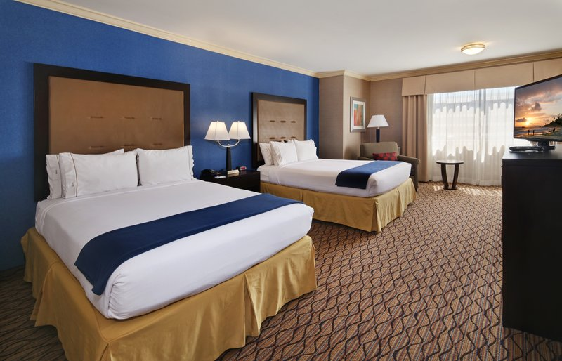 Holiday Inn Express Port Hueneme-Queen Bed Guest Room<br/>Image from Leonardo