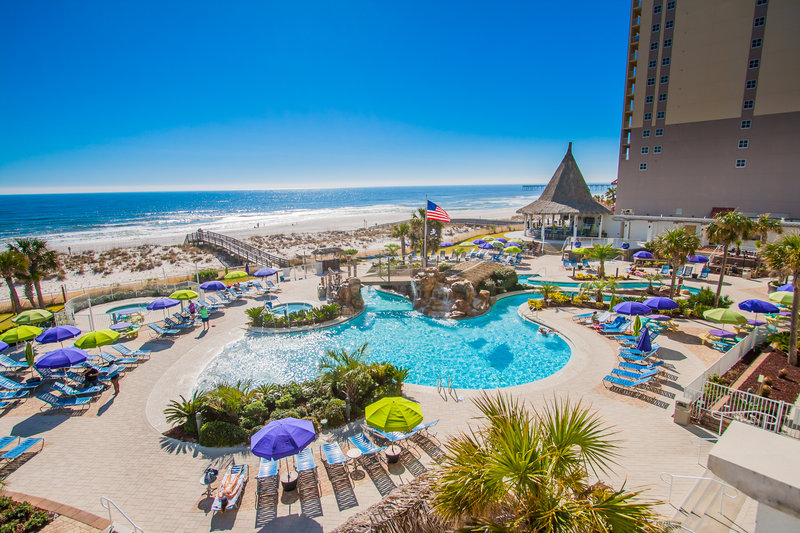 Holiday Inn Resort Pensacola Beach Gulf Front-Make a splash at the lazy river pool and hot tub<br/>Image from Leonardo