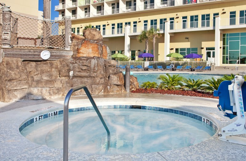 Holiday Inn Resort Pensacola Beach Gulf Front-Relax in one of our hot tubs on the beachfront pool deck<br/>Image from Leonardo