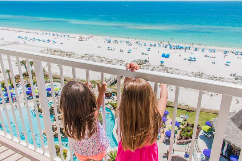 Holiday Inn Resort Pensacola Beach Gulf Front-View from Hotel<br/>Image from Leonardo