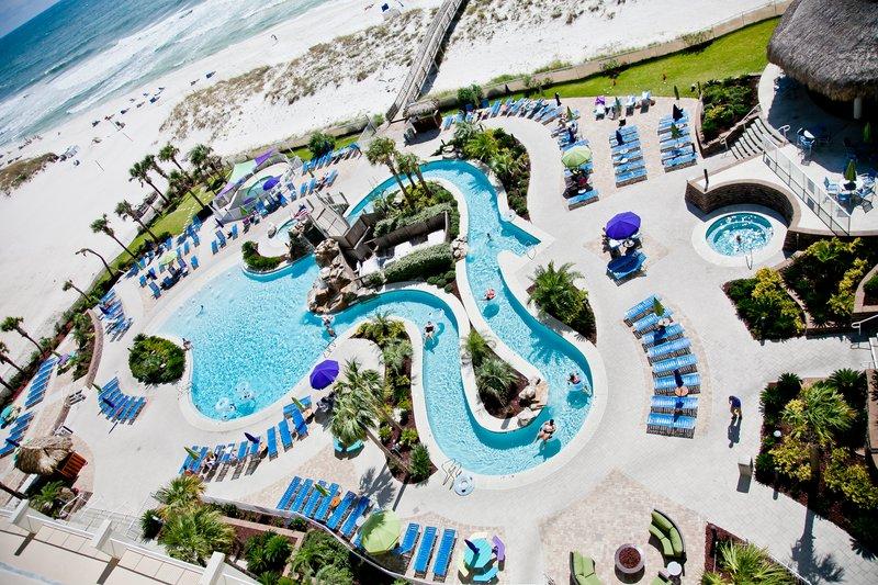 Holiday Inn Resort Pensacola Beach Gulf Front-Holiday Inn Resort 250 ft heated Lazy River pool & 2 hot tubs<br/>Image from Leonardo