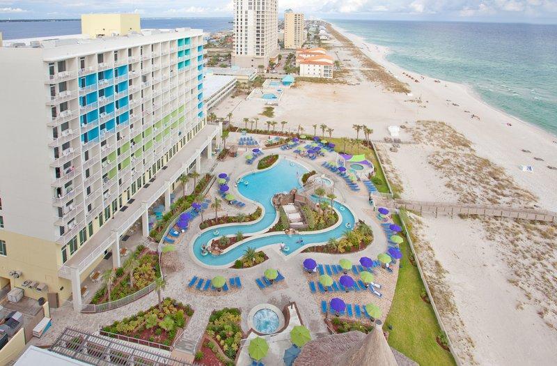 Holiday Inn Resort Pensacola Beach Gulf Front-Holiday Inn Resort Pensacola Beach's Heated Pool and Beach Access<br/>Image from Leonardo