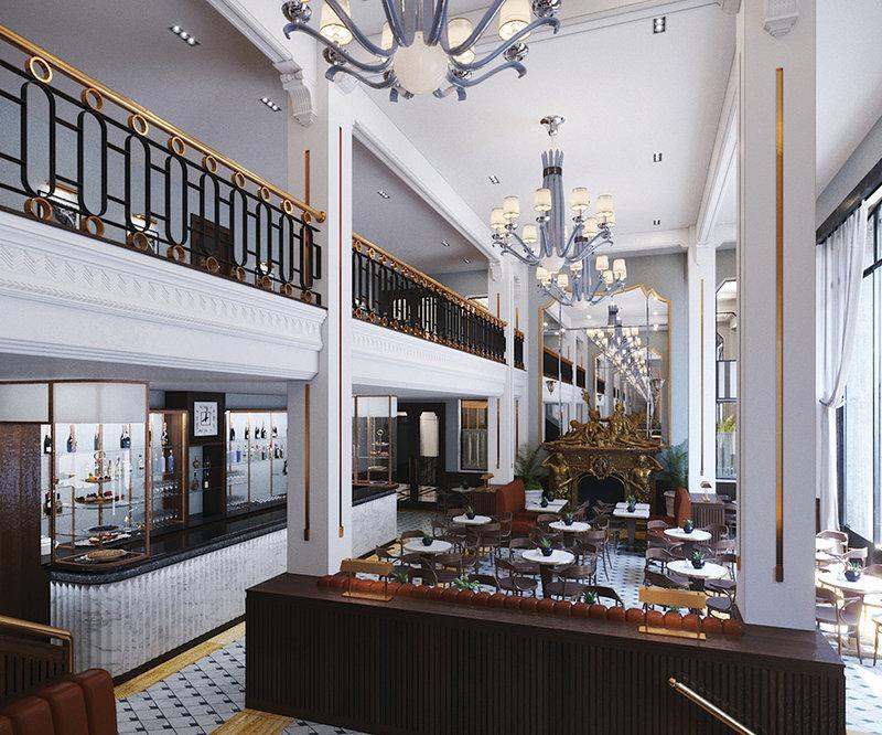 Maison Albar Le Monumental Palace-Brasserie restaurant<br/>Image from Leonardo