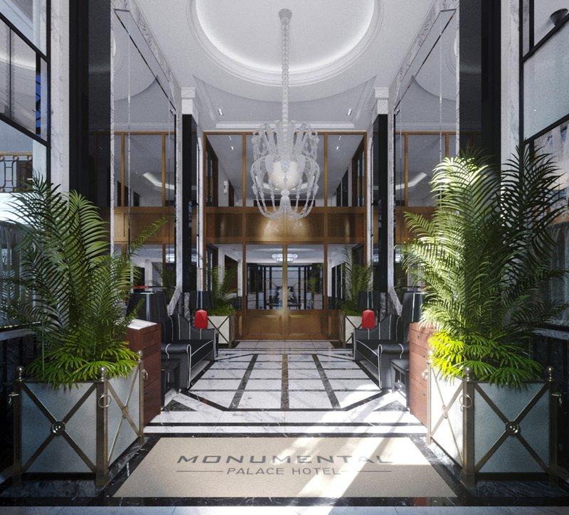 Maison Albar Le Monumental Palace-Lobby<br/>Image from Leonardo