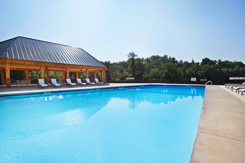 Crowne Plaza Resort Asheville-Crowne Plaza Asheville Outdoor Pool and Cabana<br/>Image from Leonardo