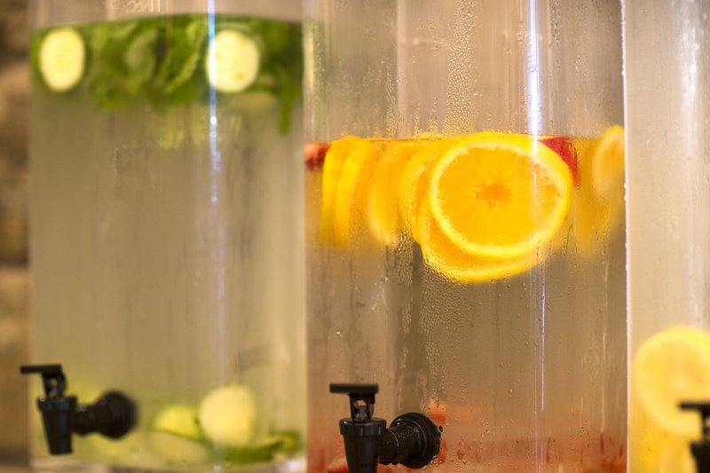 Crowne Plaza Resort Asheville-Enjoy a refreshing infused water from our wellness center.<br/>Image from Leonardo
