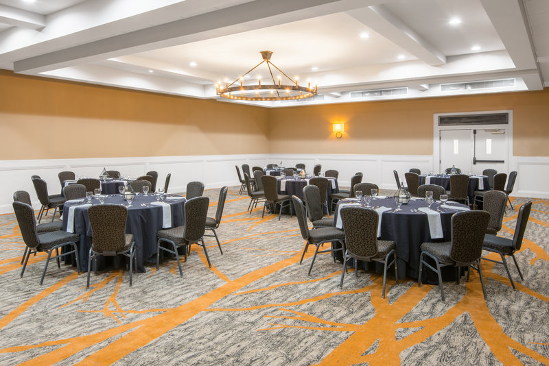 Crowne Plaza Resort Asheville-Mt. Pilot, part of our Ballroom, is perfect for an intimate dinner<br/>Image from Leonardo