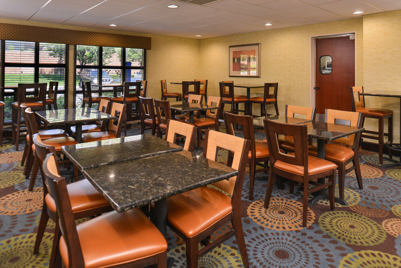 Holiday Inn Express Omaha West - 90th Street-Breakfast Area<br/>Image from Leonardo