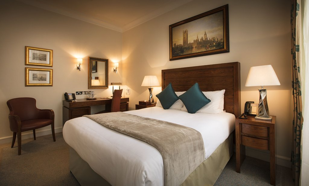 The Royal Horseguards - Guest Room Double <br/>Image from Leonardo