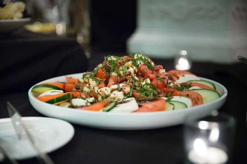Holiday Inn Hotel & Suites Bloomington - Airport-Refreshing Caprese Salad on the appetizer catering menu<br/>Image from Leonardo