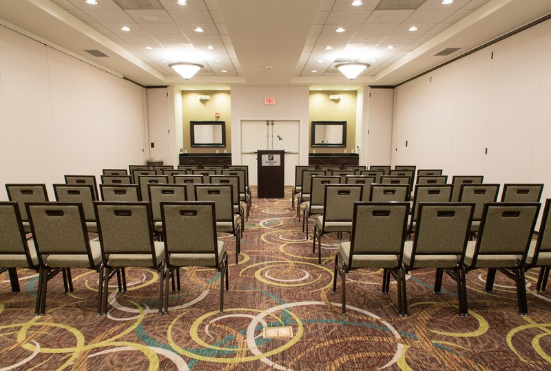 Holiday Inn Hotel & Suites Bloomington - Airport-Theater style seating shown in Sarah Raymond meeting room<br/>Image from Leonardo