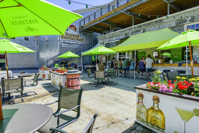 Holiday Inn Resort Deadwood Mountain Grand-Enjoy the best views, food & drinks on our Patron Patio!!<br/>Image from Leonardo