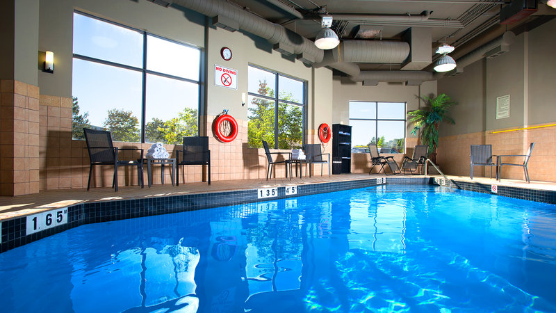 Holiday Inn Hotel & Suites Mississauga West - Meadowvale-Heated Indoor Swimming Pool at the Holiday Inn  Mississauga<br/>Image from Leonardo