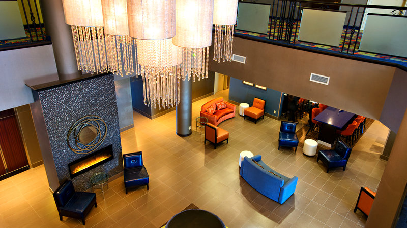 Holiday Inn Hotel & Suites Mississauga West - Meadowvale-Hotel Lobby In Mississauga Hotel<br/>Image from Leonardo