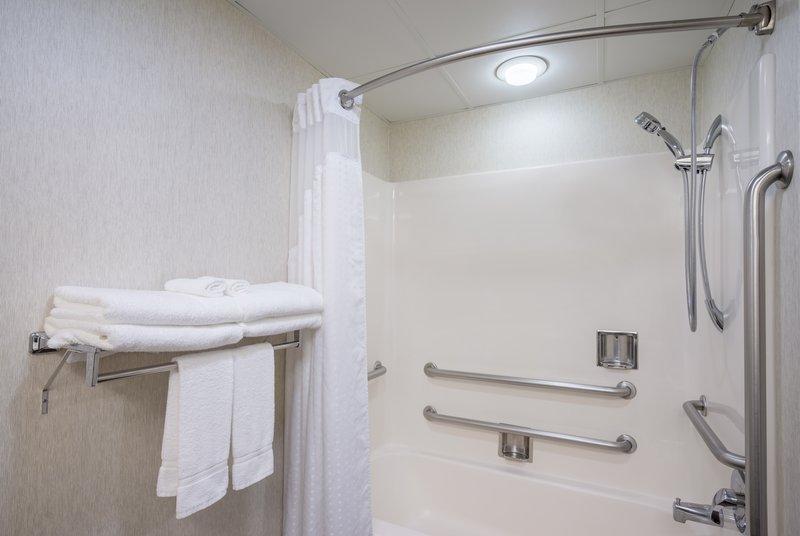 Holiday Inn Express Hanover-Guest Bathroom<br/>Image from Leonardo