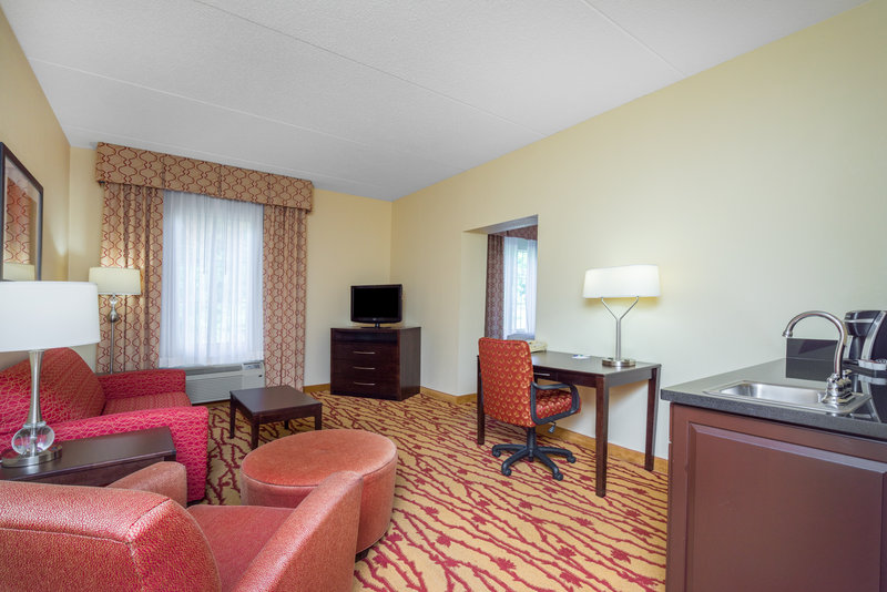Holiday Inn Express Hanover-Suite living room - stretch out and relax.<br/>Image from Leonardo