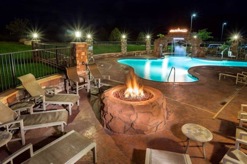 Holiday Inn Express & Suites Moab-Enjoy our outdoor fire pit area.<br/>Image from Leonardo