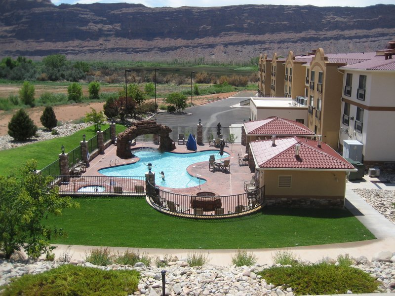 Holiday Inn Express & Suites Moab-Swimming Pool at the Holiday Inn Express and Suites Moab<br/>Image from Leonardo