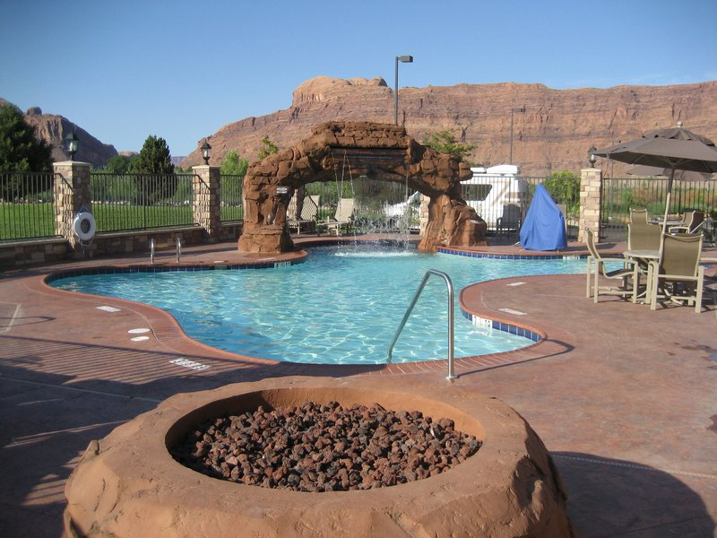 Holiday Inn Express & Suites Moab-Visit with friends and family while enjoying our fire pit<br/>Image from Leonardo