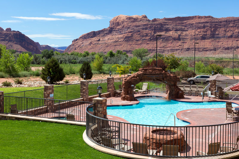 Holiday Inn Express & Suites Moab-Check out the beautiful view while swimming in our pool<br/>Image from Leonardo