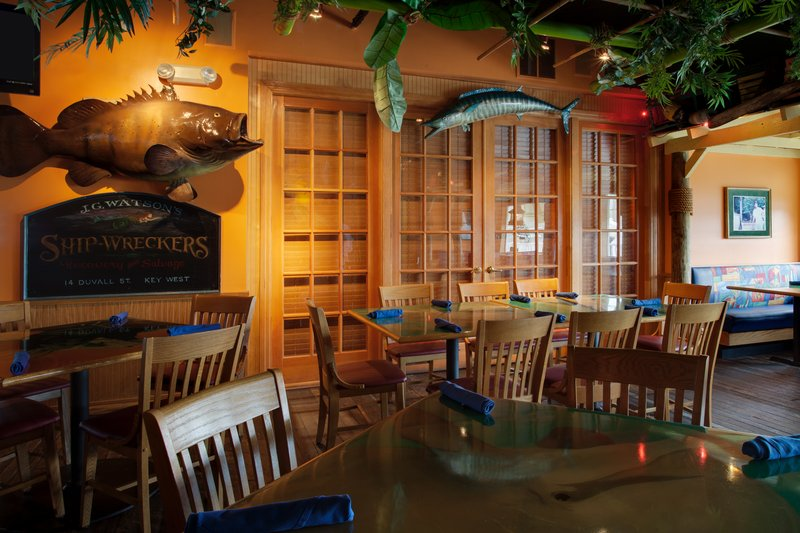 Holiday Inn & Suites Clearwater Beach S Harbour-Jimmy Guana's is our Key West style themed restaurant<br/>Image from Leonardo