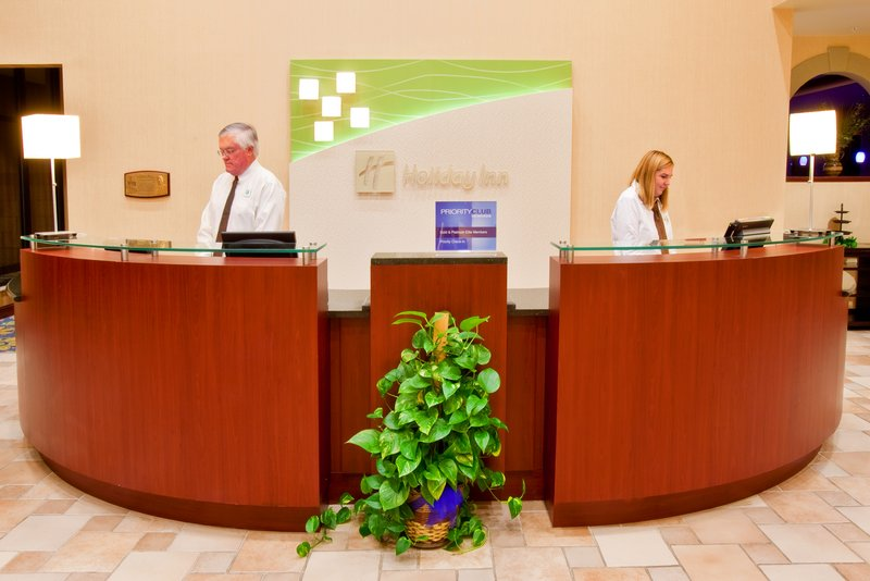 Holiday Inn Quincy East-Our helpful front desk staff to assist you.<br/>Image from Leonardo