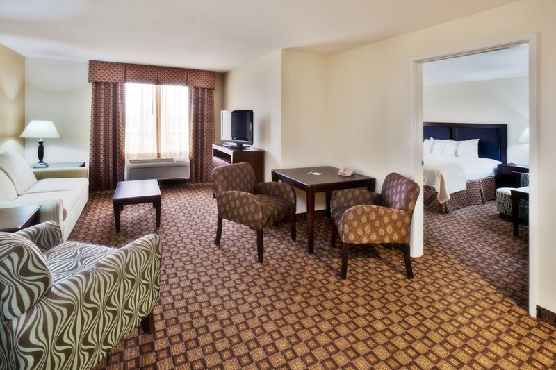 Holiday Inn Quincy East-The living room of our spacious Suite.<br/>Image from Leonardo