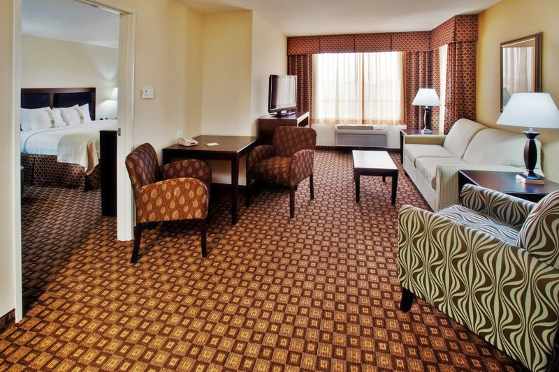 Holiday Inn Quincy East-Living room area of our King Suite.<br/>Image from Leonardo