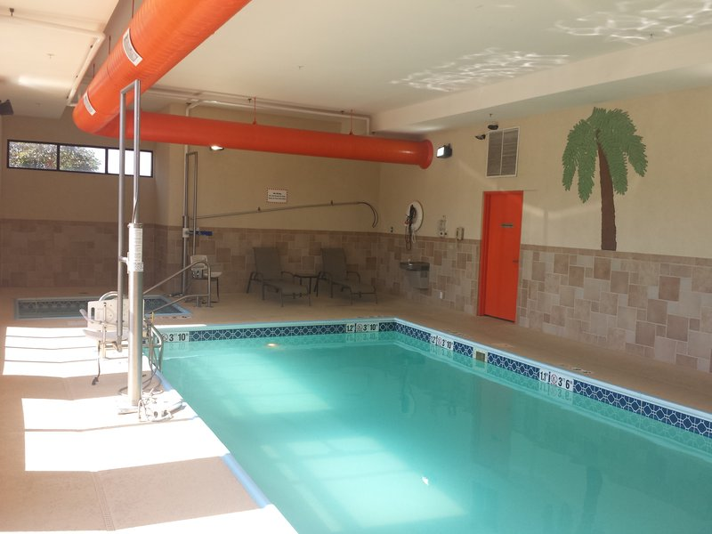 Holiday Inn Quincy East-Pool and Hot Tub ready for action!<br/>Image from Leonardo