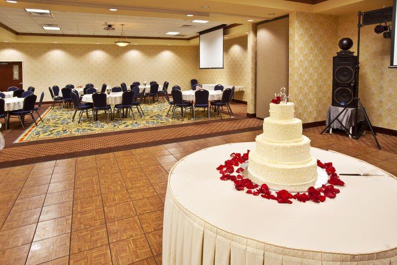Holiday Inn Quincy East-Wedding Reception in the Full Ballroom.<br/>Image from Leonardo