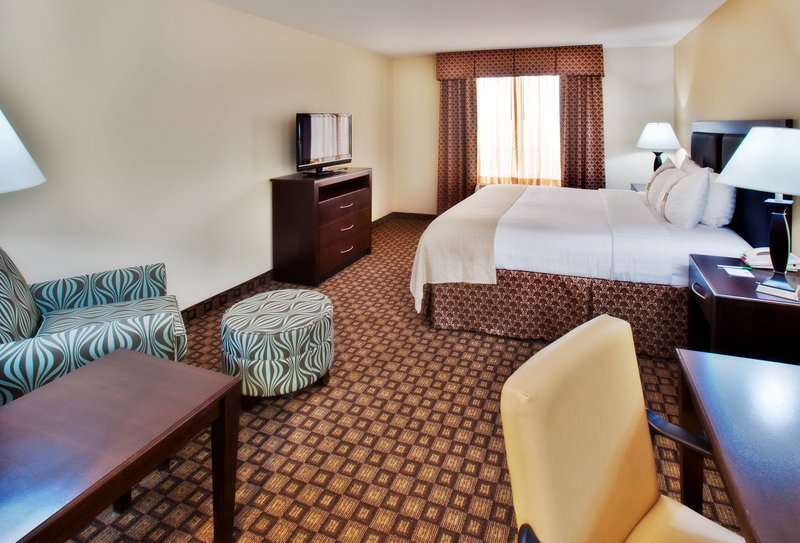 Holiday Inn Quincy East-Our standard King Bed guest room.<br/>Image from Leonardo