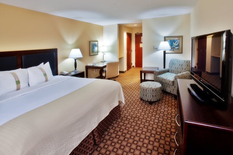 Holiday Inn Quincy East-Our standard guest room with king bed.<br/>Image from Leonardo