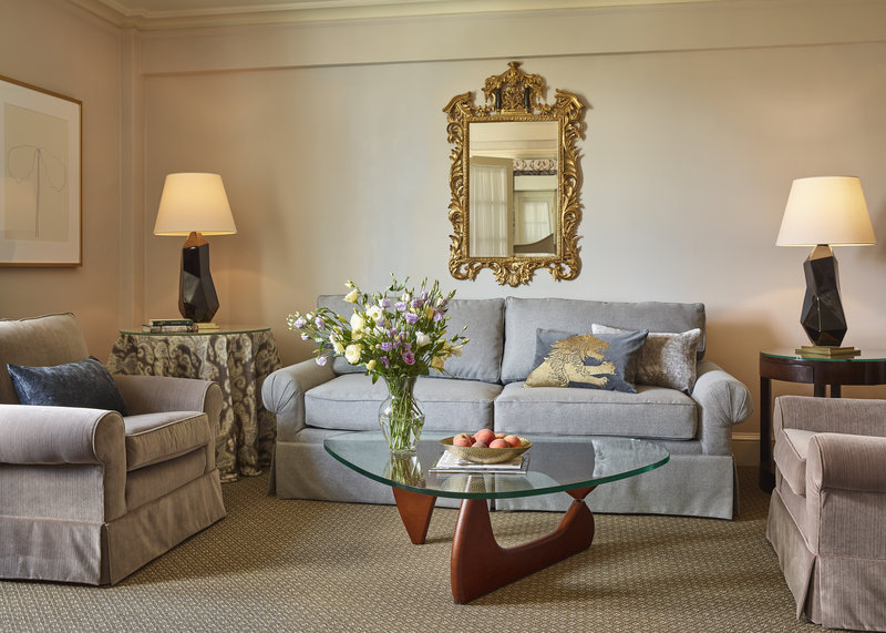Eliot Apartment Suites-Living Room of a One-Bedroom Suite<br/>Image from Leonardo