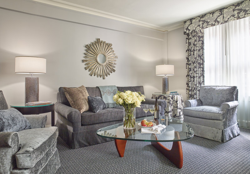 Eliot Apartment Suites-Living Room of a One Bedroom Suite<br/>Image from Leonardo