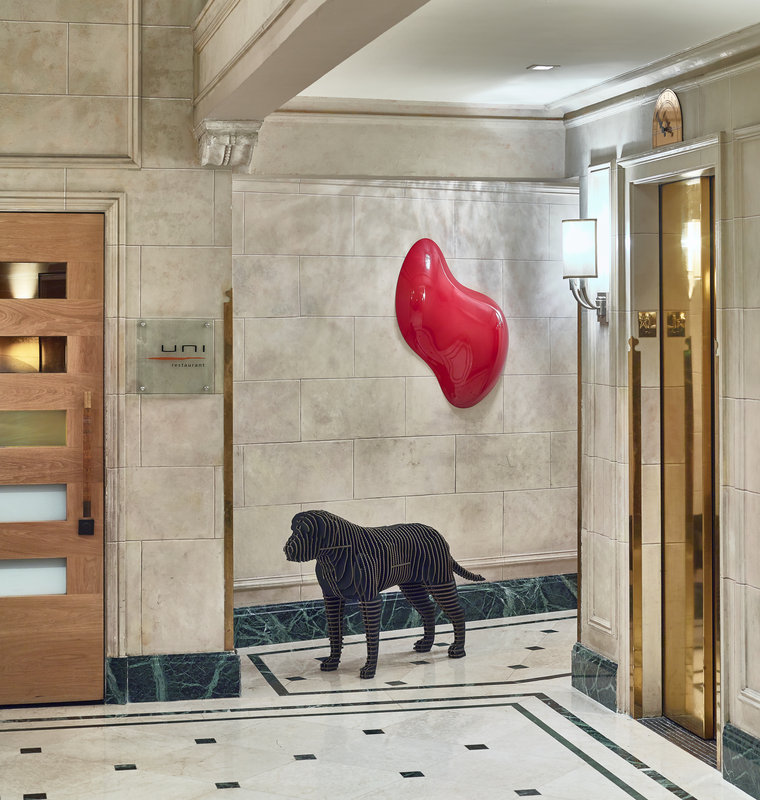 Eliot Apartment Suites-Lobby at The Eliot Hotel<br/>Image from Leonardo