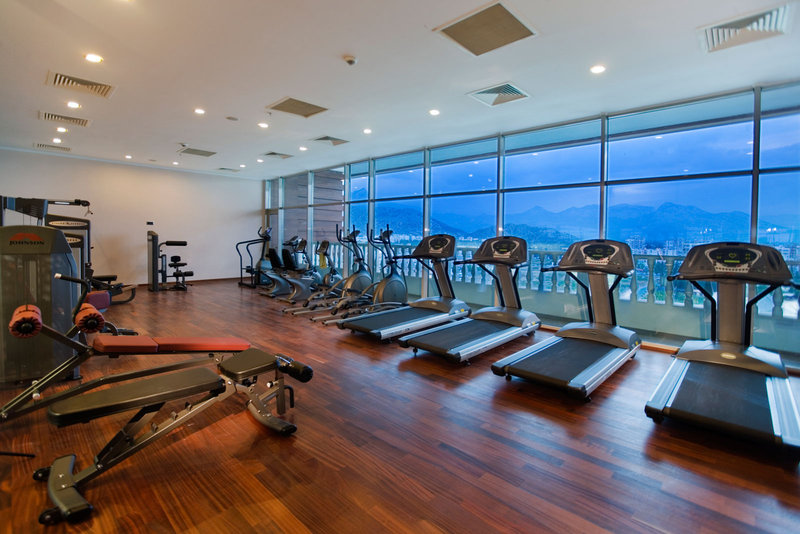 Crowne Plaza Antalya-Fitness Center on the 10 floor with amazing sea view<br/>Image from Leonardo