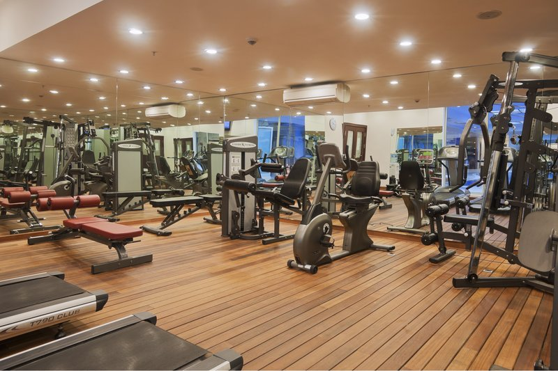 Crowne Plaza Antalya-Well equipped Fitness Centre both for female and male guests<br/>Image from Leonardo