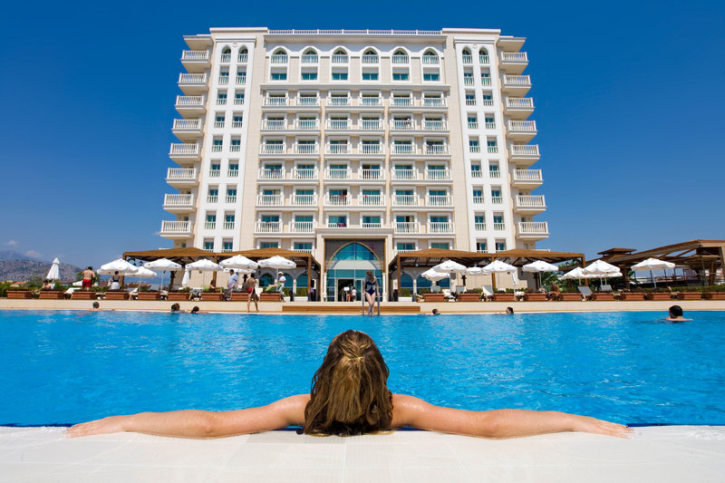 Crowne Plaza Antalya-Outdoor swimming pool<br/>Image from Leonardo