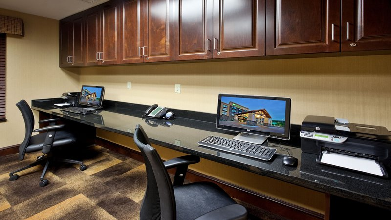 Holiday Inn Express & Suites Great Falls-Business Center open 24 hours<br/>Image from Leonardo